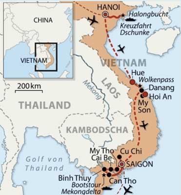 Vietnam – Baukultur, Natur und Gastronomie | a&k ...